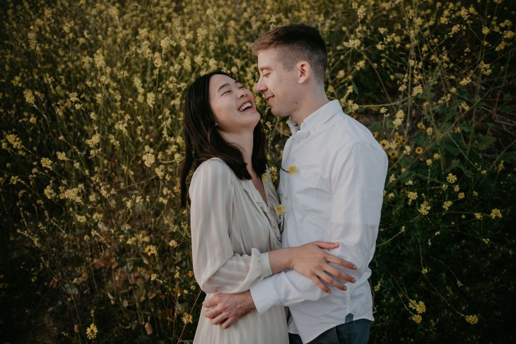 Palos Verdes Coast Anniversary Couple Session image by Fatima Elreda Photo