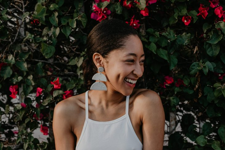2019 Small Business Gift Guide, Shop 31 Suns Earrings, image by Fatima Elreda Photo