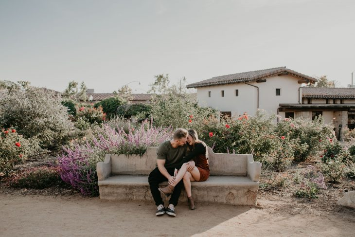 Mission San Juan Capistrano Engagement Session image by Fatima Elreda Photo
