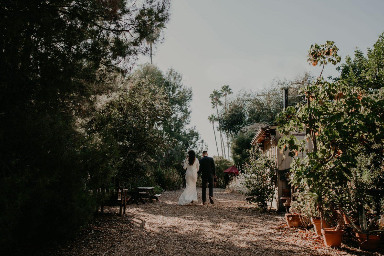 Arlington Arboretum Wedding bride and groom portrait, image by Fatima Elreda Photo